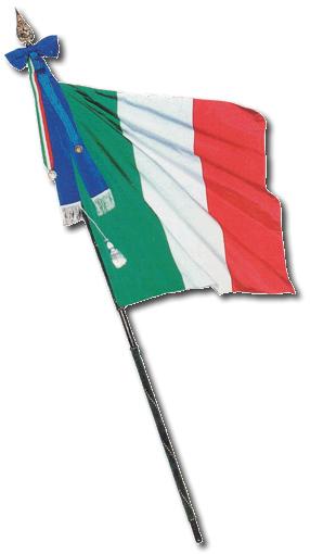 54 anniversario della repubblica italiana for Bandiera di guerra italiana