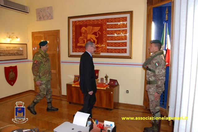 La iv commissione difesa al reggimento lagunari serenissima for Commissione difesa camera