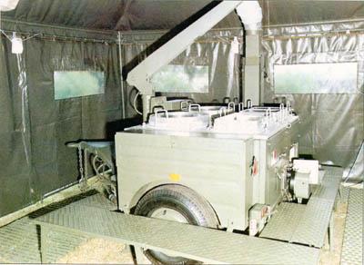 cucina rotabile da campo